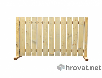 Premicna panelna ograja spredaj