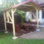 Streha za vrtno garnituro 3