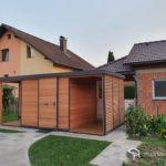 Vrtna hiška Trentino (2)