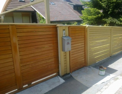 Vzdrževanje ograje
