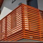 balkonska ograja krtina detajl