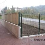 les za panelne ograje z desne