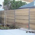 lesena ograja domžale z desne