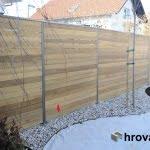 lesena ograja domžale z leve