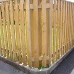 lesena ograja ljubljana vogal