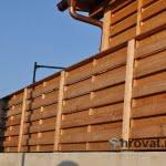 lesena ograja sibirski macesen