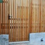 lesena ograja vizmarje pokoncna
