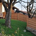lesena ograja zalec druga stran