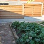 lesena ograja zalec vrt