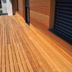 lesena terasa dravlje cela