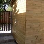 lesena terasa z lopo lopa