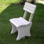 leseni stol aljaz smreka 1
