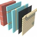 prerez lesene fasade romb
