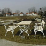 vrtna Garnitura Dunaj smreka macesen